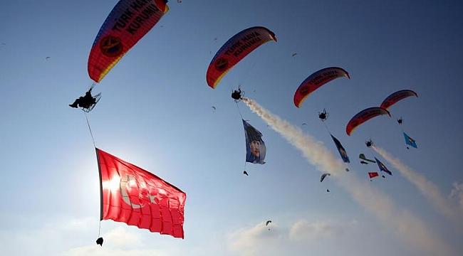 Hava Oyunları Festivali gösterilerle sona erdi