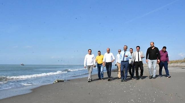 Kaderine terk edilen Beyaz Kum Plajı yeniden açılıyor