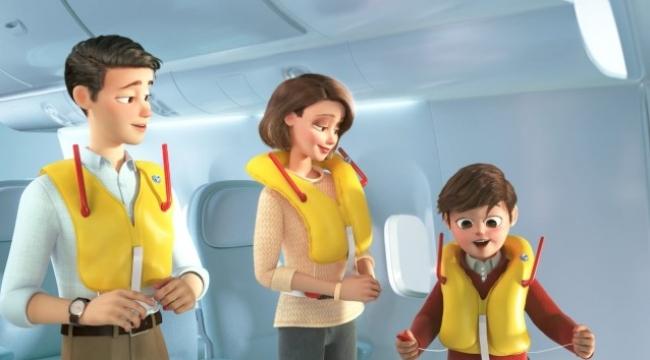 THY'den yeni uçuş emniyet videosu!