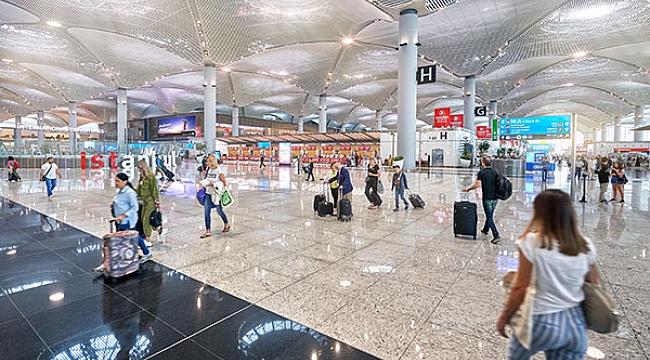 46 milyon kişi İstanbul Havalimanı'ndan uçtu
