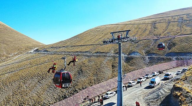 Erciyes Kayak Merkezi kış sezonuna hazırlanıyor