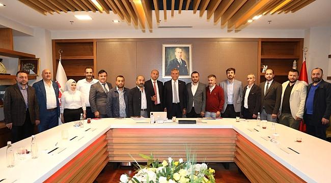 HURSAD'dan TÜRSAB Başkanı Bağlıkaya'ya ziyaret