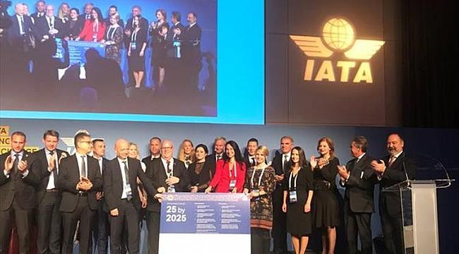 Pegasus, IATA'nın kadın temsilini artırma girişimini imzaladı