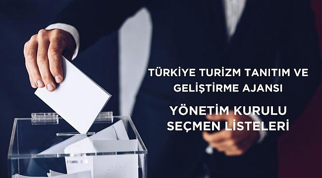 Turizm Tanıtım Ajansı seçmen listeleri yayınlandı