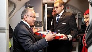 Uçakta fındıklı baklava sürprizi