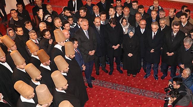 Bakan Ersoy Mevlana'yı anma törenlerine katıldı