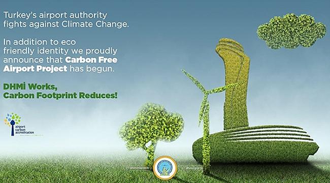 DHMİ'den  'Karbonsuz Havalimanı Projesi'