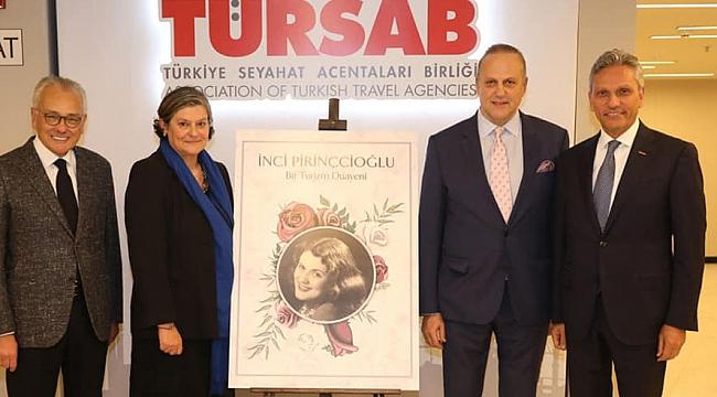 İnci Pirinçcioğlu TÜRSAB'ta törenle anıldı
