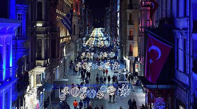 İstiklal Caddesi yeni yılda ışıl ışıl olacak