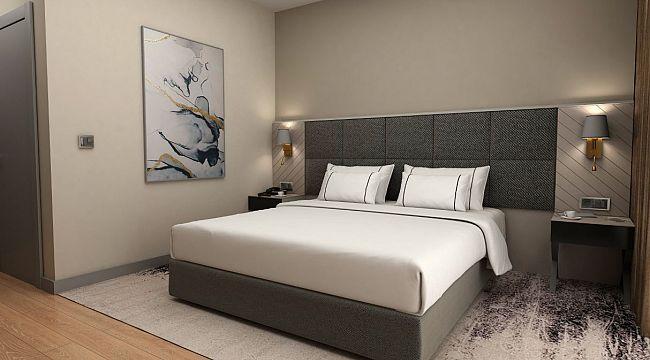 126 odalı otel açıldı