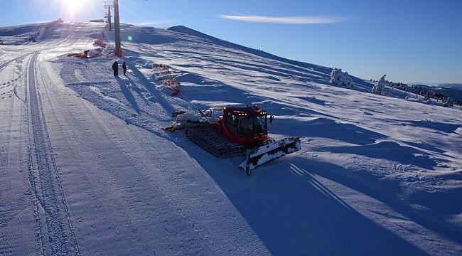 60 milyon liralık kayak merkezi açıldı