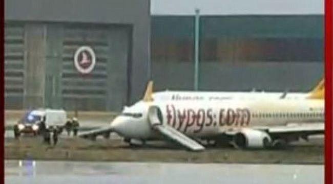 Pegasus Havayolları'ndan pistten çıkan uçak açıklaması