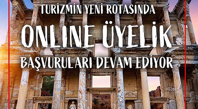 TÜRSAB Rota'da yer almak için online kaydı unutmayın!