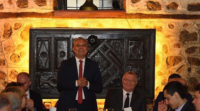 Almanya onur konuğu ülke olarak Kaleiçi'nde