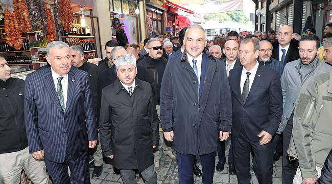Bakan Ersoy, ''Türkiye'nin daha kat etmesi gereken yol var''