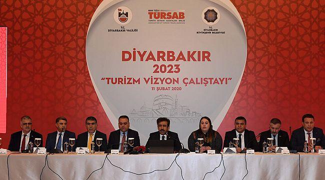 'Diyarbakır 2023 Turizm Vizyon Çalıştayı' düzenlendi