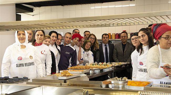 Otel şeflerine ''Alanya Mutfağı'' eğitimi