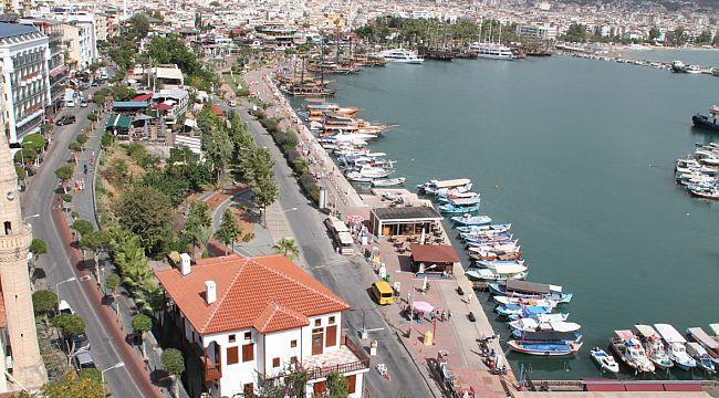 Alanya turizm sezonunda yüzde 85 kayıp yaşadı