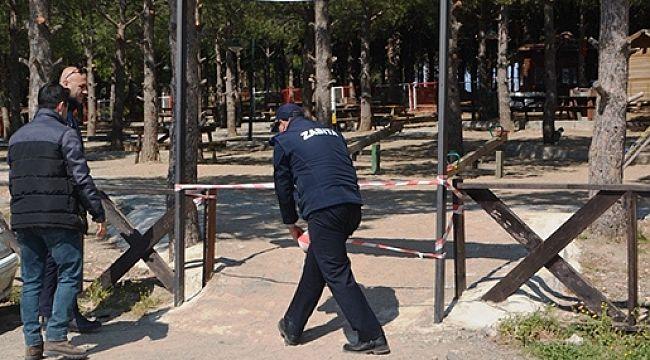 Antalya'da mesire ve piknik alanları kapatıldı