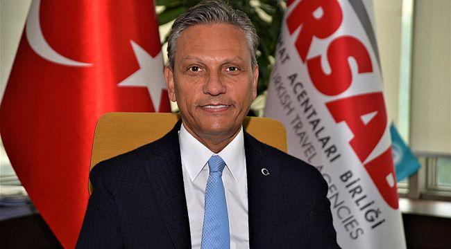 TÜRSAB Başkanı Bağlıkaya, teşekkür etti
