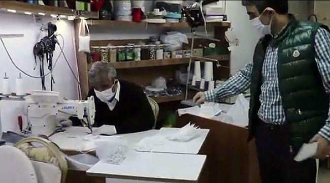 Otellerindeki personel için kaliteli maske üretiyorlar