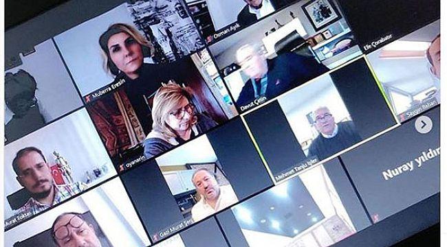 TOBB  Turizm Meclisi 'video konferans' aracılığıyla toplandı