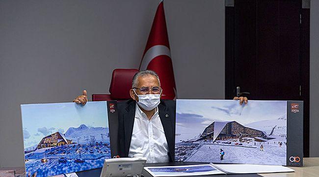 Erciyes'e bir otel zinciri daha yatırım yapacak