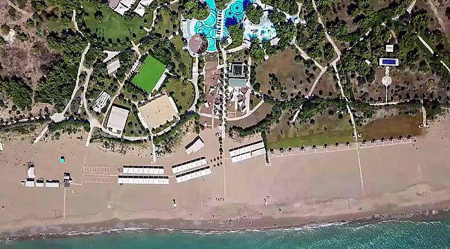 1200 yataklı otel ve 18 delikli golf sahası icradan satılık