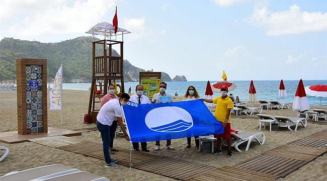 Alanya'nın Mavi Bayraklı ilk tesisi belgesini aldı