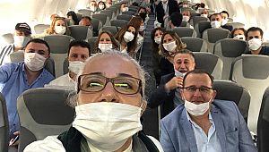 Didimli turizmci yeni normalin ilk uçuşunu anlattı