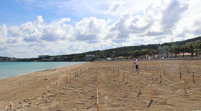 Ilıca Plajı'nda