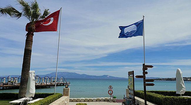 İzmir'de 52 mavi bayraklı plaj bulunuyor
