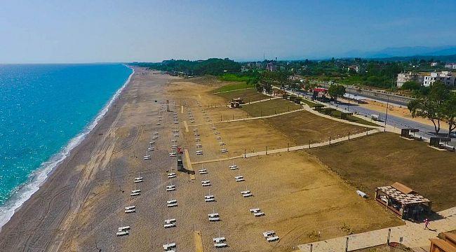 Kızılot Halk Plajı ve Mesire alanı açıldı