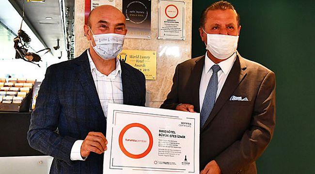 Turuncu Çember sertifikasını alan ilk otel oldu
