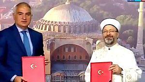 Ayasofya Camii turistlerin ziyaretine açık olacak