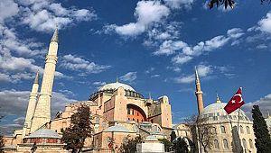 Ayasofya'daki restorasyon çalışmaları tamamlandı