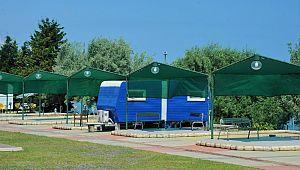 Huzurlu tatilin adresi ''Samsun karavan Parkı''