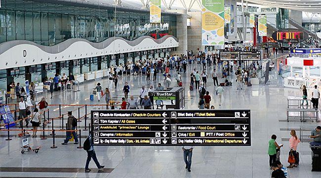 Pandemi  hava yolu yolcu trafiğini yüzde 70 azalttı
