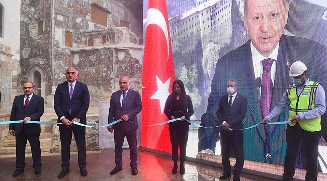 Sümela Manastırı ve Ayasofya Camii açıldı