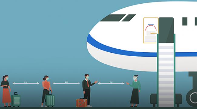 Temmuz'da hava yolunu kullanan yolcu sayısı 6 milyonu aştı
