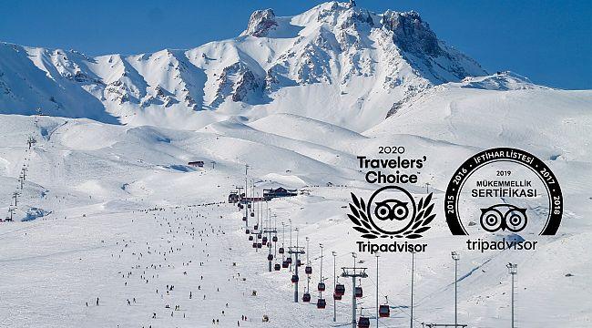Erciyes'e 2020 Travellers Choice ödülü