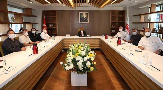 Firuz Bağlıkaya, BTK başkanları ile istişare toplantısı yaptı