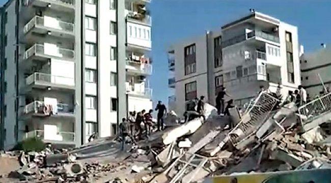 İzmir'deki şiddetli deprem; 12 ölü, 419 yaralı