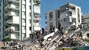 İzmir'deki şiddetli deprem; 4 ölü, 120 yaralı