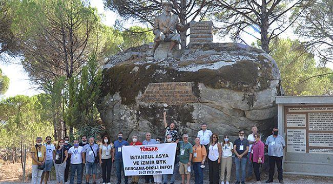 Seyahat acentaları Bergama-Dikili infosunda bir araya geldi