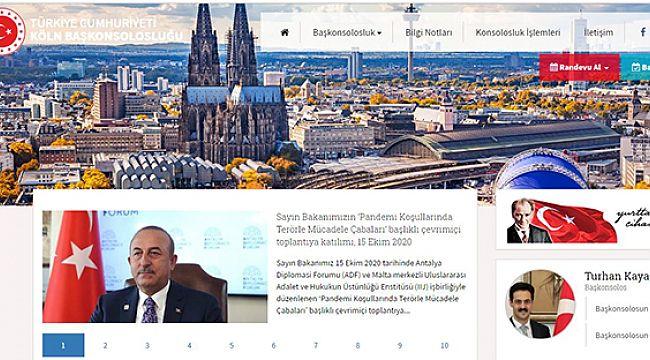 Türkiye'nin Köln Başkonsolosluğu 30 Ekim'e kadar kapatıldı