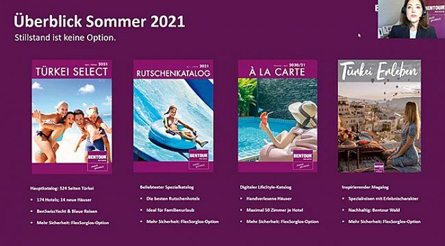 2021 yaz programını Online platformda tanıttı