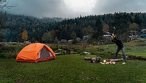 Batı Karadeniz'de kamp çadır alanları belirlendi