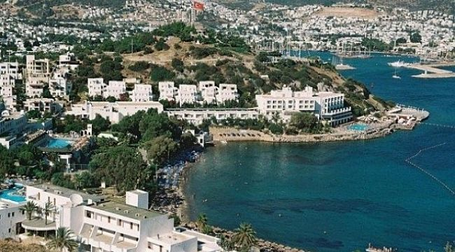 Yunan adalarındaki kutlama Bodrum'da tedirginlik yarattı