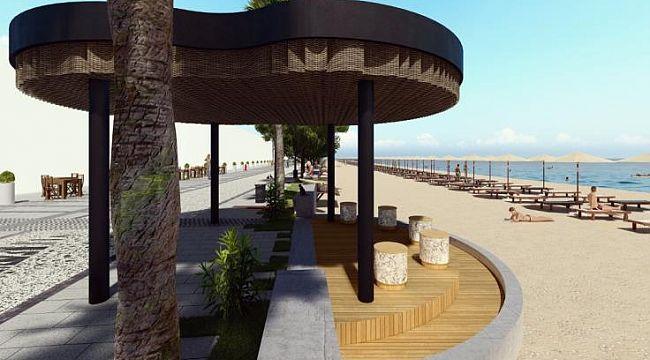 Çalış sahilinin çehresi 7 milyona değişecek